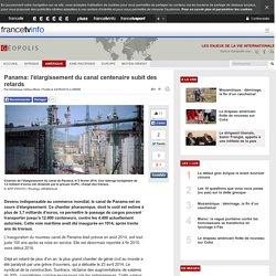 Panama: l'élargissement du canal centenaire subit des retards