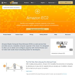 Elastic Compute Cloud (Amazon EC2)