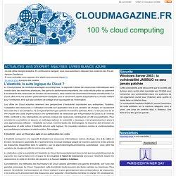 L'élasticité, la suite logique du Cloud ?