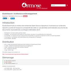 Osmose - Le blog Ebiznext - ElasticSearch : Architecture et Développement