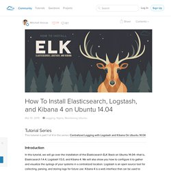 How To Install Elasticsearch, Logstash, and Kibana 4 on Ubuntu 14.04