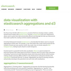 Data Visualization With Elasticsearch Aggregations And D3
