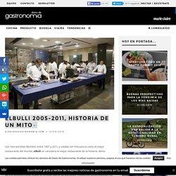 elBulli 2005-2011, historia de un mito