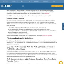 ELD Compliant: How to Be Sure Your ELD is Really Compliant
