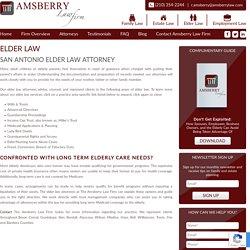 Best Elder Law lawyers in San Antonio