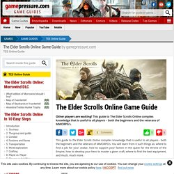 The Elder Scrolls Online Game Guide