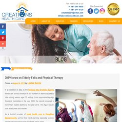 2019 News on Elderly Falls and Physical Therapy