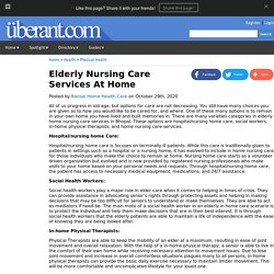 Elderly Nursing Care Services At Home