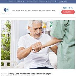 Keep Elderly Parents Engaged