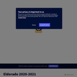Eldorado 2020-2021 by especelmarie on Genially