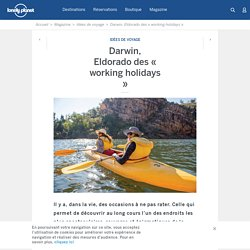 Darwin, Eldorado des « working holidays »