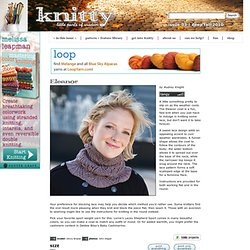 Eleanor cowl: Knitty Deep Fall 2010
