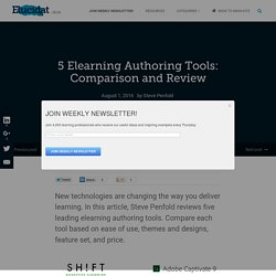 5 Elearning Authoring Tools: Comparison and Review