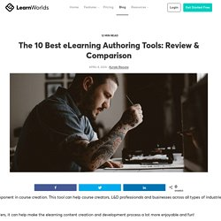 The 10 Best eLearning Authoring Tools: Review & Comparison