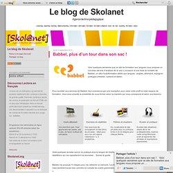 Babbel, plus d'un tour dans son sac ! - Skola-Blog, le blog de Skolanet ! [ e-learning - elearning - learning - distance-learning - e-formation - eformation - formation - formation a distance - foad - nte - tice - coaching - formateur - tuteur ]