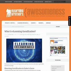What is eLearning Gamification?