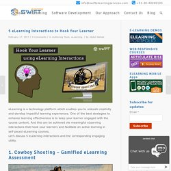 Top 5 elearning interactions for online learning courses