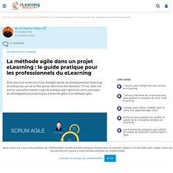 La méthode agile dans un projet eLearning : le guide pratique pour les professionnels du eLearning - eLearning Industry