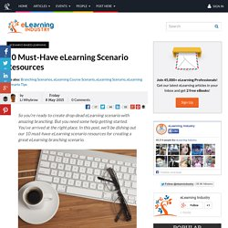 10 Must-Have eLearning Scenario Resources