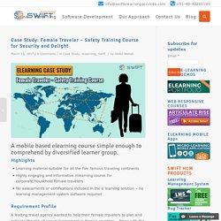 eLearning Case Study: Female Traveler Safety Training Course