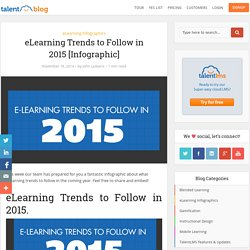 eLearning Trends to Follow in 2015 [Infographic]