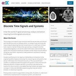RiceX: ELEC301x: Discrete Time Signals and Systems