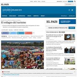 Elecciones catalanas 2015: El milagro del turismo