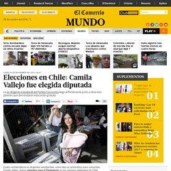 Elecciones en Chile: Camila Vallejo fue elegida diputada