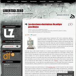 Las elecciones electrónicas: Un peligro para México