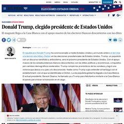 Elecciones EEUU 2016: Donald Trump, elegido presidente de Estados Unidos