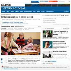 Finlandia combate el acoso escolar
