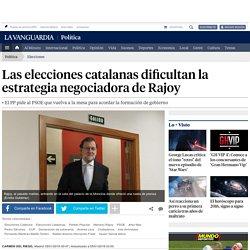 Las elecciones catalanas dificultan la estrategia negociadora de Rajoy