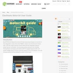 Motor:bit User Guide - Blog