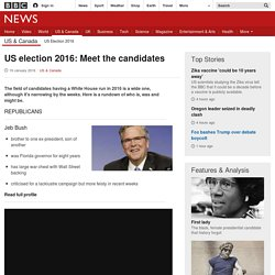 US 2016: Meet the possible candidates - BBC News