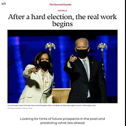 After a hard election, the real work begins, say analysts and scholars