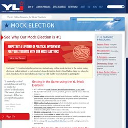 Mock Election – Youth Leadership Initiative