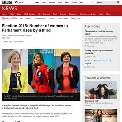 Election 2015: Number of women in Parliament rises by a third
