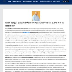 West Bengal Election Opinion Poll: EtG Predicts BJP Win in Nadia Dist
