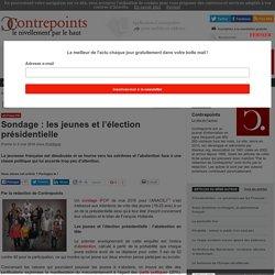 Sondage : les jeunes et l'élection présidentielle