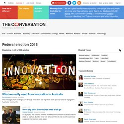 Federal election 2016 – The Conversation - News, Research and Analysis