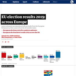 EU election results 2019: across Europe