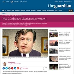 Web 2.0: the new election superweapon