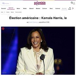 Kamala Harris, le discours féministe