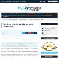 Élections US : la bataille se joue sur Internet