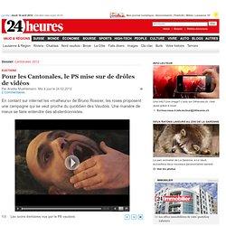 Cantonales 2012: Le PS mise sur un humour original -