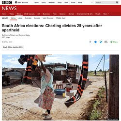 South Africa elections: Charting divides 25 years after apartheid