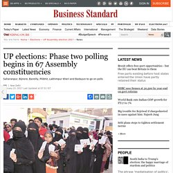 UP elections: Phase two polling begins in 67 Assembly constituencies