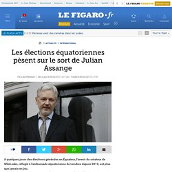 Les élections équatoriennes pèsent sur le sort de Julian Assange