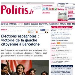 Élections espagnoles : victoire de la gauche citoyenne à Barcelone