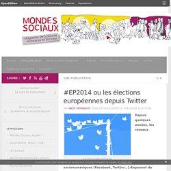 #EP2014 ou les élections européennes depuis Twitter